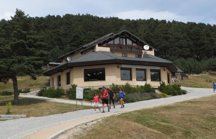 Casa del Parque del Puerto de Cotos.