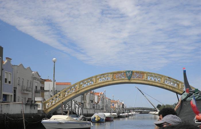 Puente dos Carcavelos visitar Aveiro