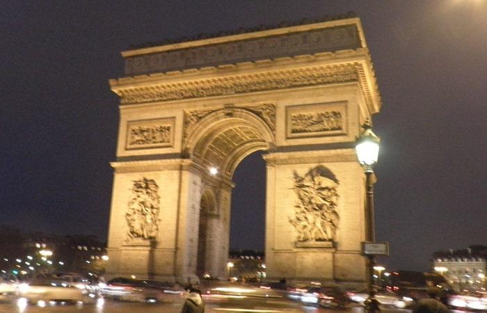 Arco del Triunfo de París Torre de Montparnasse