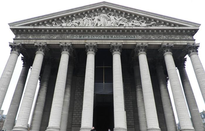 Iglesia de la Madeleine de París Puente del Alma