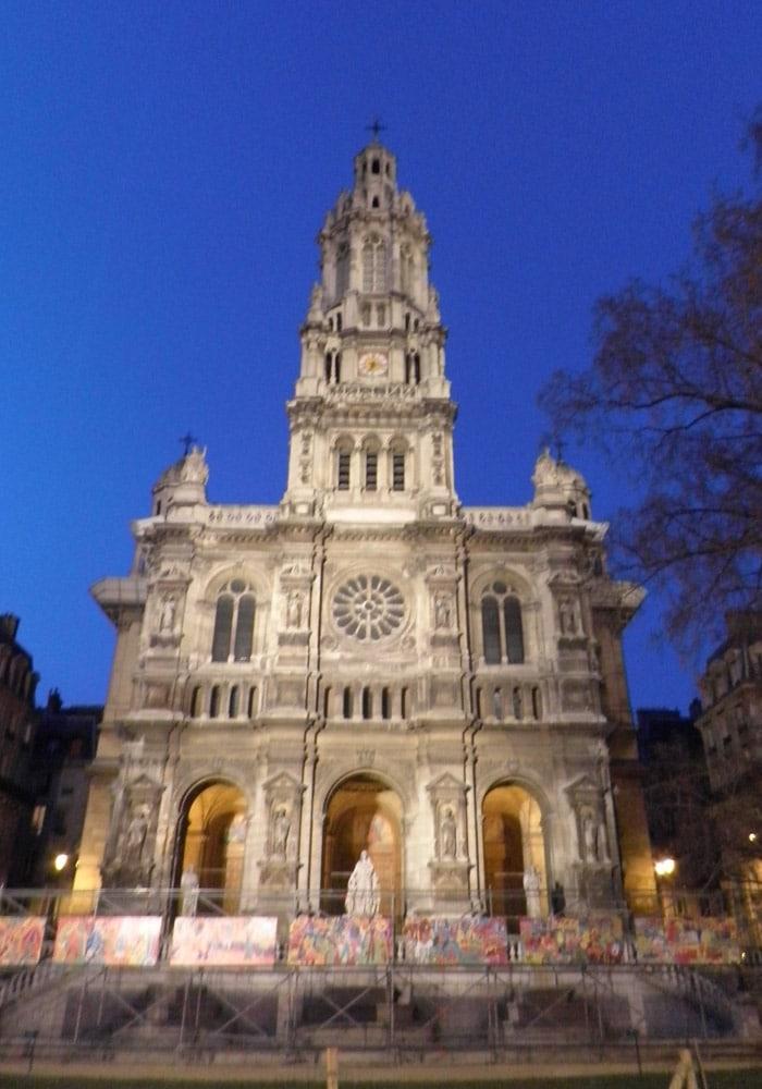 Iglesia de La Trinidad d'Estienne d'Orves de París qué ver en Montmartre