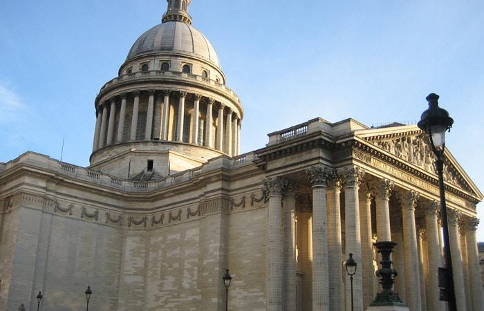 Pantéon de París museo del Louvre