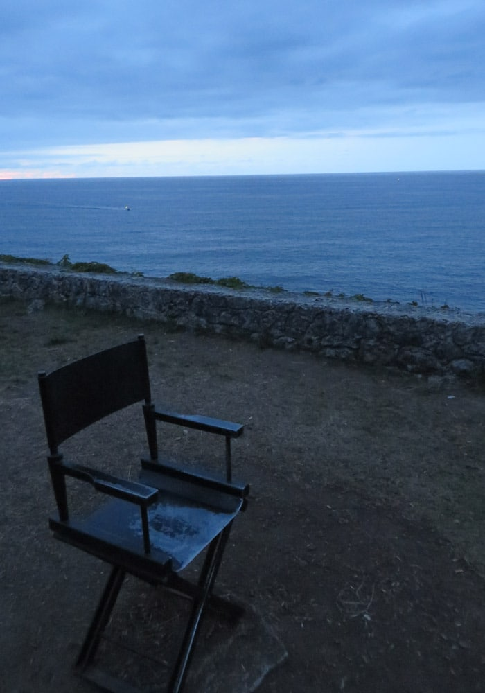 Homenaje al cine en el paseo de San Pedro en Llanes turismo en Asturias