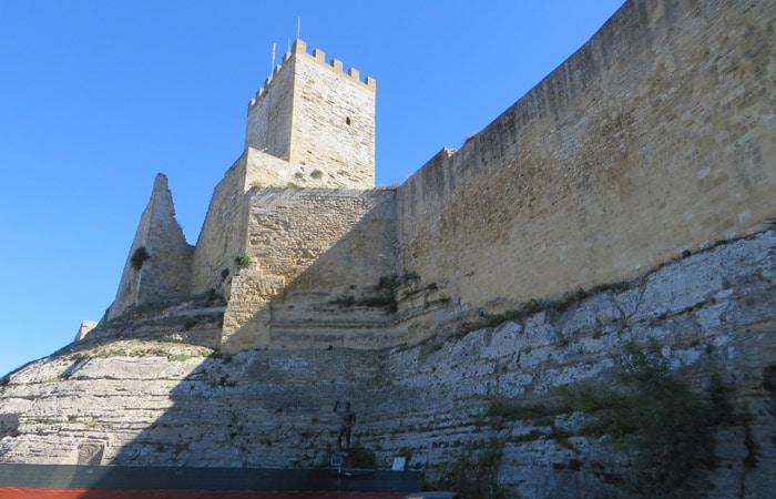 Castillo de Lombardía de Enna Sicilia