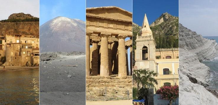 Cinco lugares imprescindibles en Sicilia