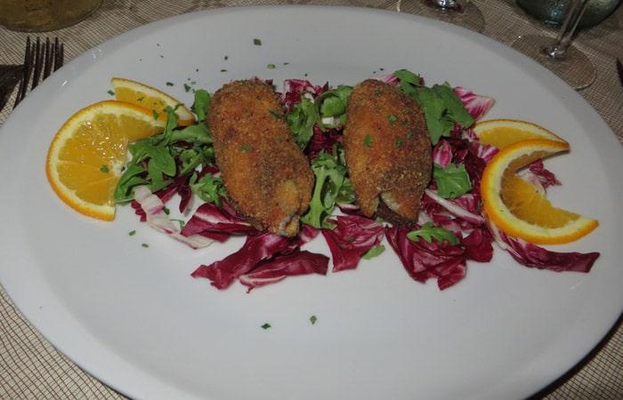 Espada a la Siciliana del ristorante Naif de Agrigento comer en Sicilia
