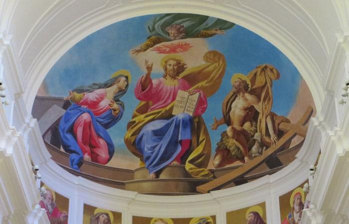 Fresco del Duomo de Noto Sicilia