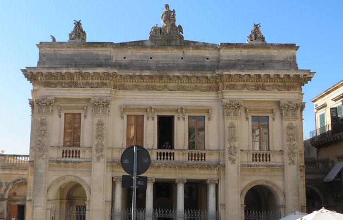 Teatro Tina di Lorenzo de Noto Sicilia