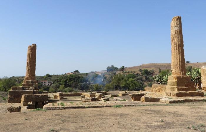 Templo de Vulcano Valle de los Tempos Agrigento