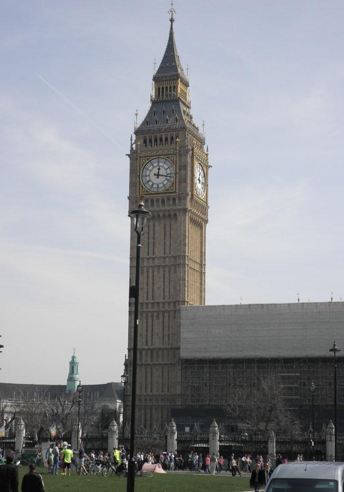 Big Ben ruta por Londres