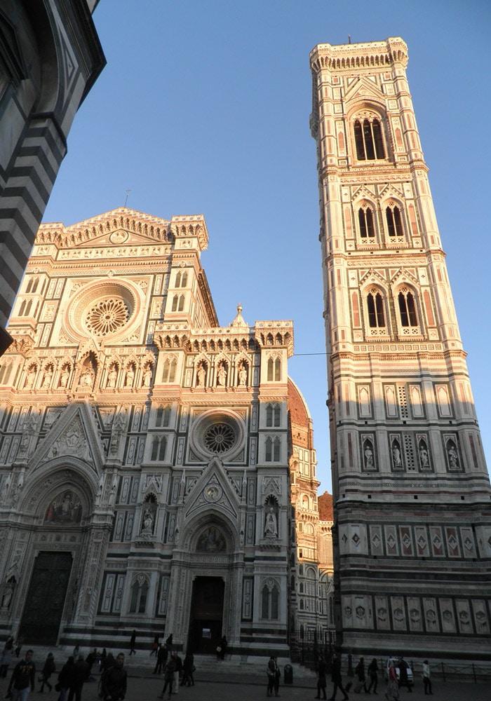 Duomo de Santa María del Fiore y Campanario de Giotto qué visitar en Florencia