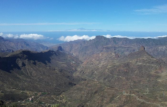 Vista del Teide desde el Roque Nublo