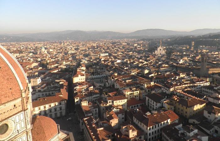 Otra vista desde el Campanario de Giotto qué visitar en Florencia