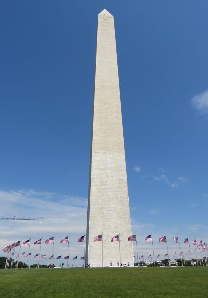 Gran obelisco del Monumento a Washington