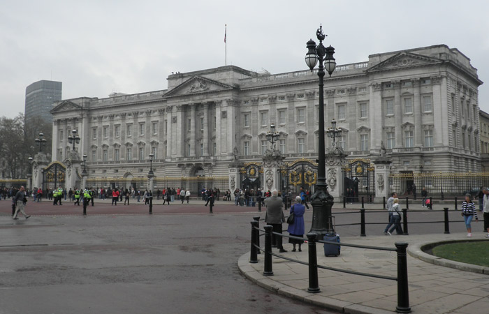 Palacio de Buckingham Londres
