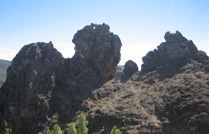 Roques del entorno Roque Nublo