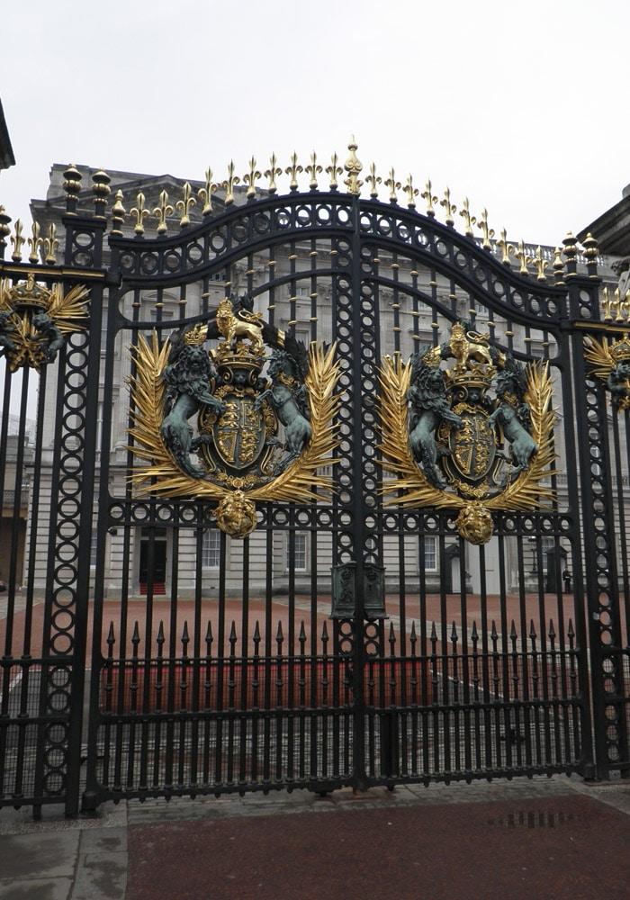 Verja del Palacio de Buckingham Londres