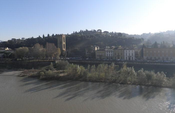 Vista desde el hotel Plaza Lucchesi qué ver en Florencia