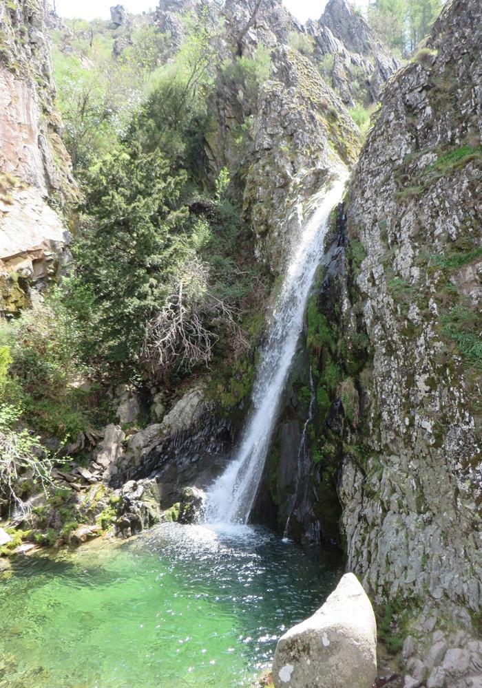 Cascada del Pozo del Infierno Ruta del Jabalí