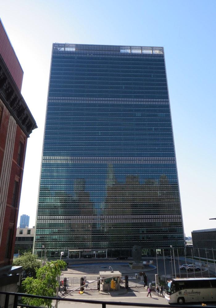 Edificio de las Naciones Unidas ferry a Staten Island