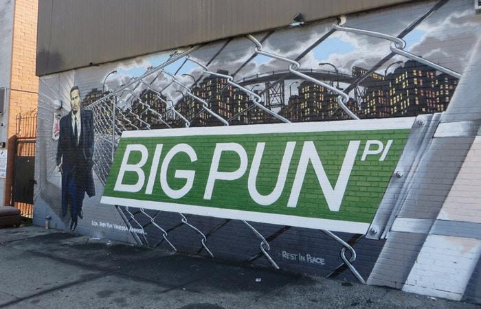 Grafiti de Big Pun en el Bronx contrastes de Nueva York