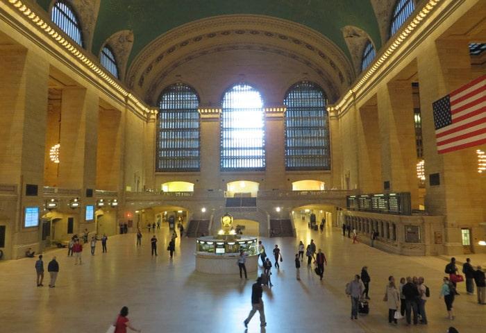 Hall de la Grand Central Terminal ferry a Staten Island