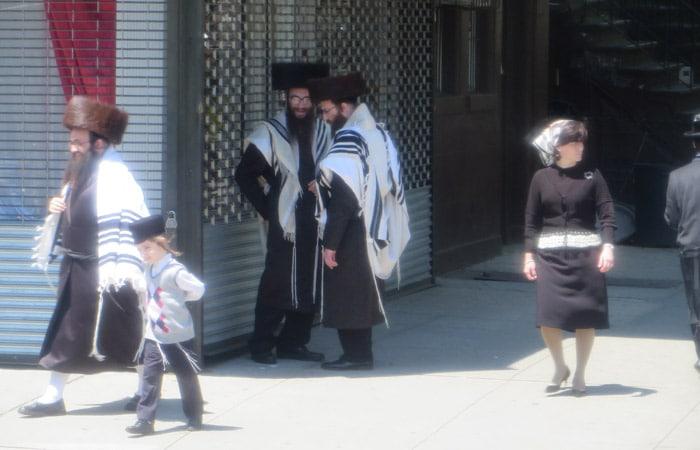 Judíos ultraortodoxos contrastes de Nueva York