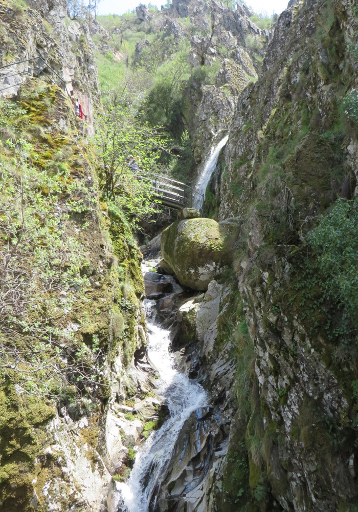Pozo del Infierno y miradores ruta del Jabalí