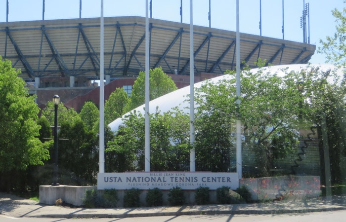 USTA Billie Jean King National Tennis Center, sede del US Open contrastes de Nueva York
