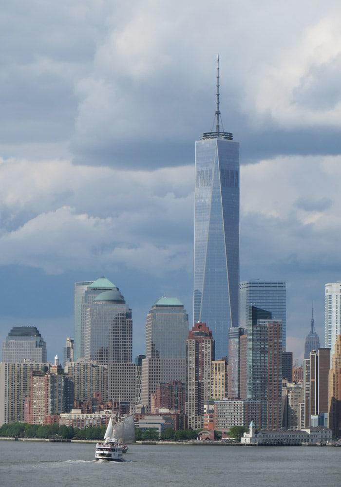 Torre de la libertad desde el ferry a Staten Island