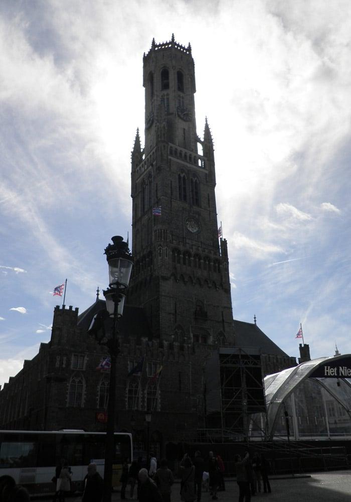 Torre del Camapanario qué ver en Brujas en un día