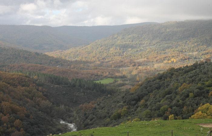 Vistas de la Sierra de Francia Camino de los Rodales