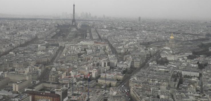 Vista desde la Torre de Montparnasse