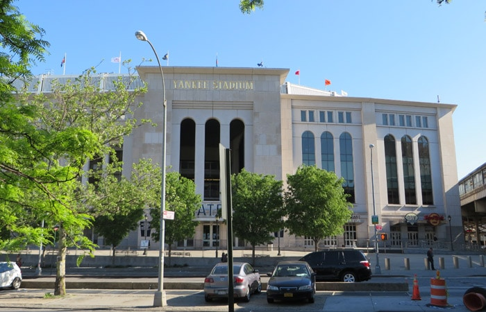 Yankee Stadium del Bronx contrastes de Nueva York