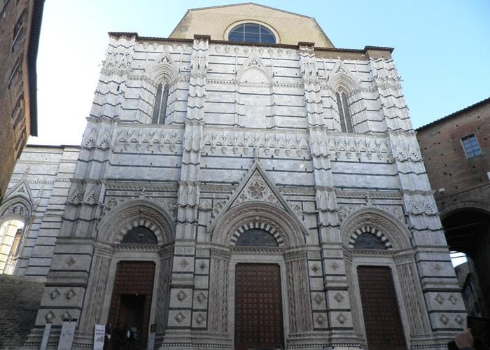 Baptisterio de San Juan de Siena
