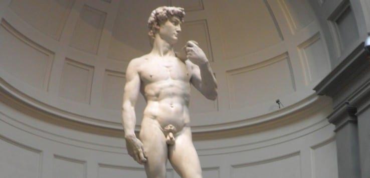David de Miguel Ángel museos de Florencia