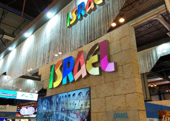 Estand de Israel feria Fitur