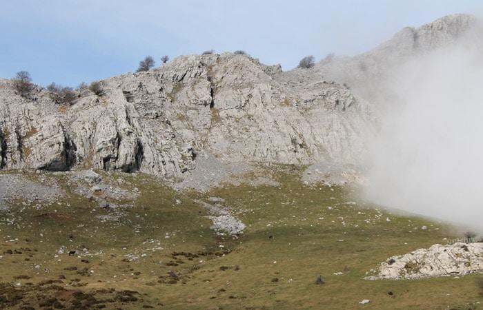 Macizo de las campas de Arraba subida al Gorbea
