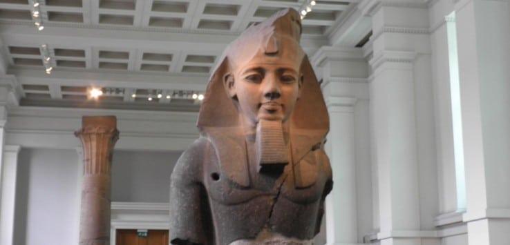Ramses II British Museum Museos de Londres