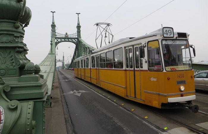 Tranvía qué ver en Budapest