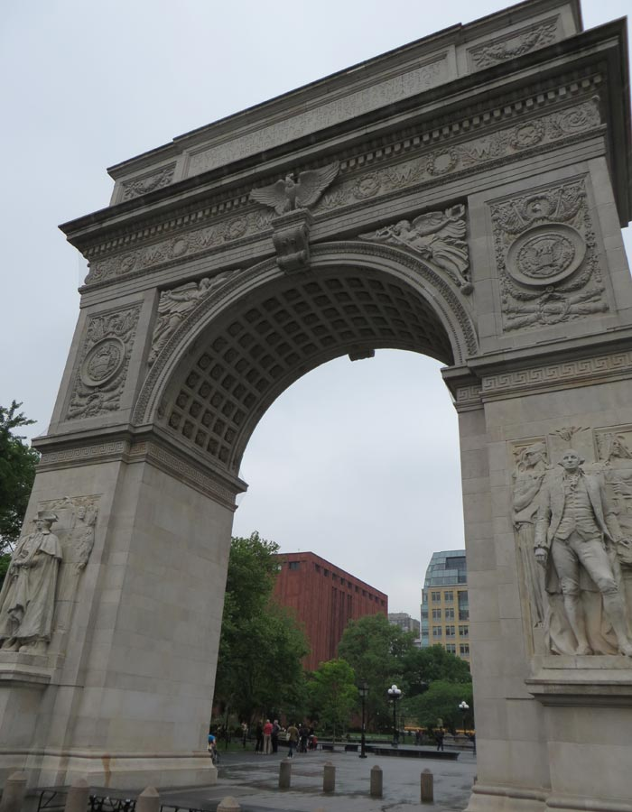 Arco del triunfo en Washington Square