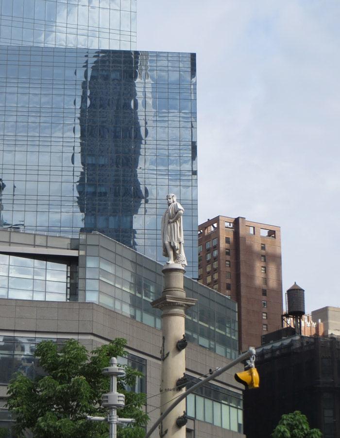 Estatua de Cristóbal Colón en Columbus Circle