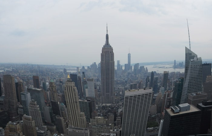 Empire State desde el Top on the Rock