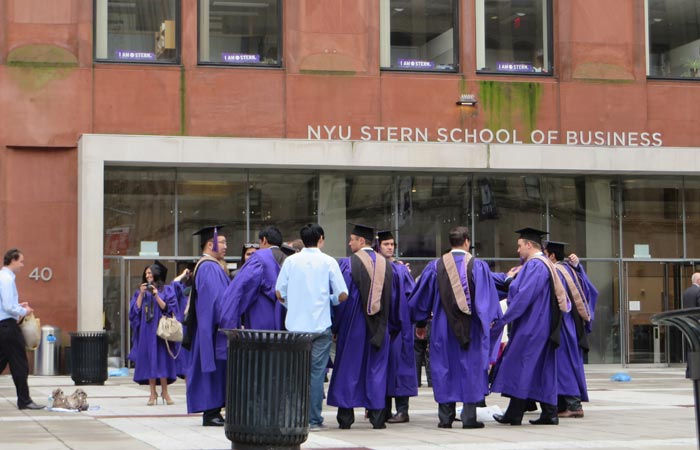 Graduados en la Universidad de Nueva York