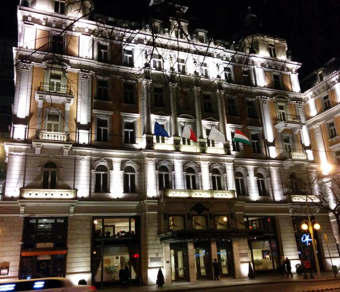 Hotel Corinthia de Budapest