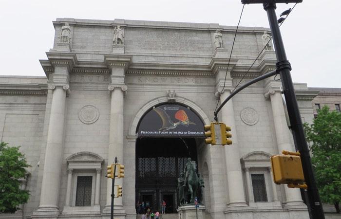 Fachada del Museo Americano de Historia Natural