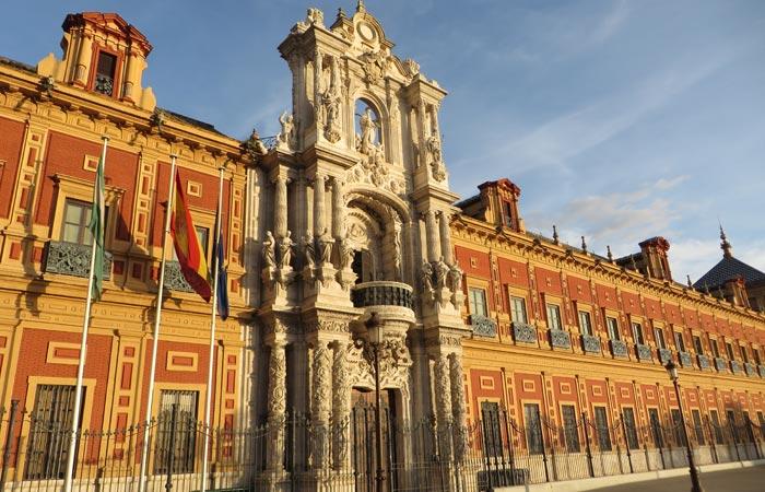 Palacio de San Telmo monumentos de Sevilla