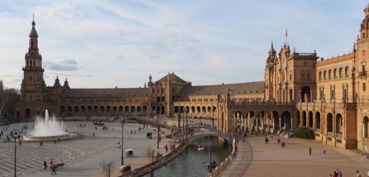 Plaza de España monumentos de Sevilla
