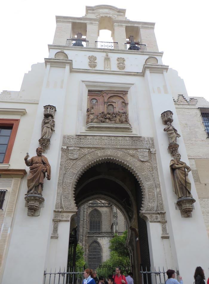 Puerta del Perdón de la Catedral monumentos de Sevilla