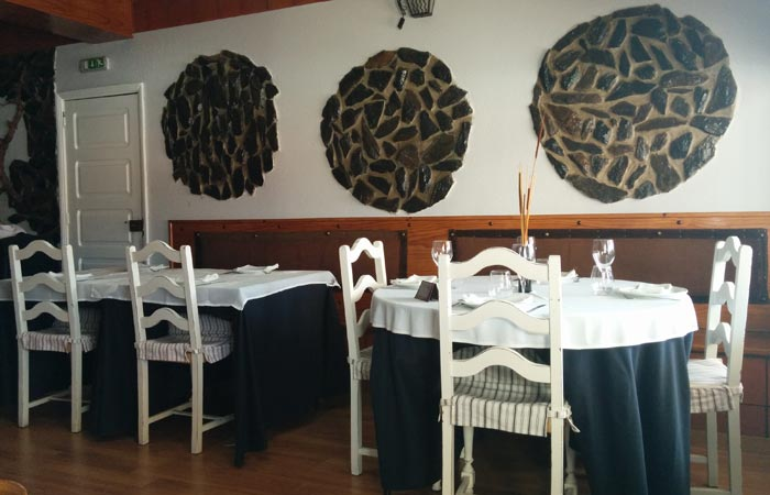 Interior del Restaurante Cinta D'Ouro comer en Freixo de Espada